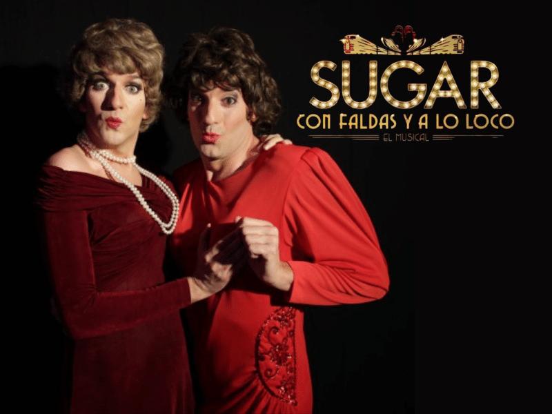 Rubén Yuste en Sugar con faldas y a lo loco