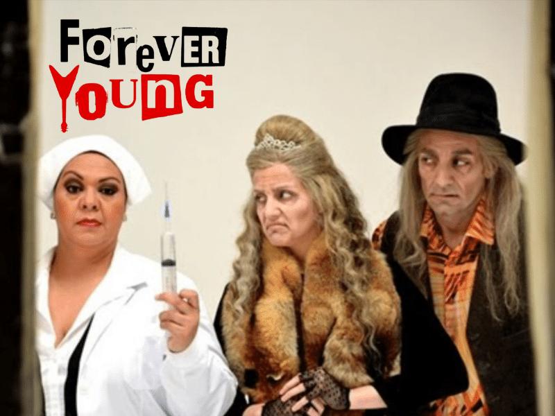 Rubén Yuste en Forever Young